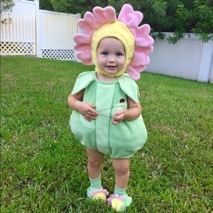 Baby Pink Flower Halloween Costume